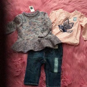 Gap infant girl bundle.